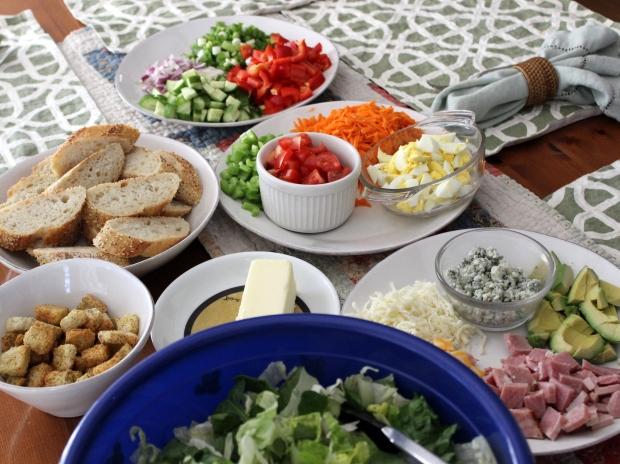 14 chopped salad