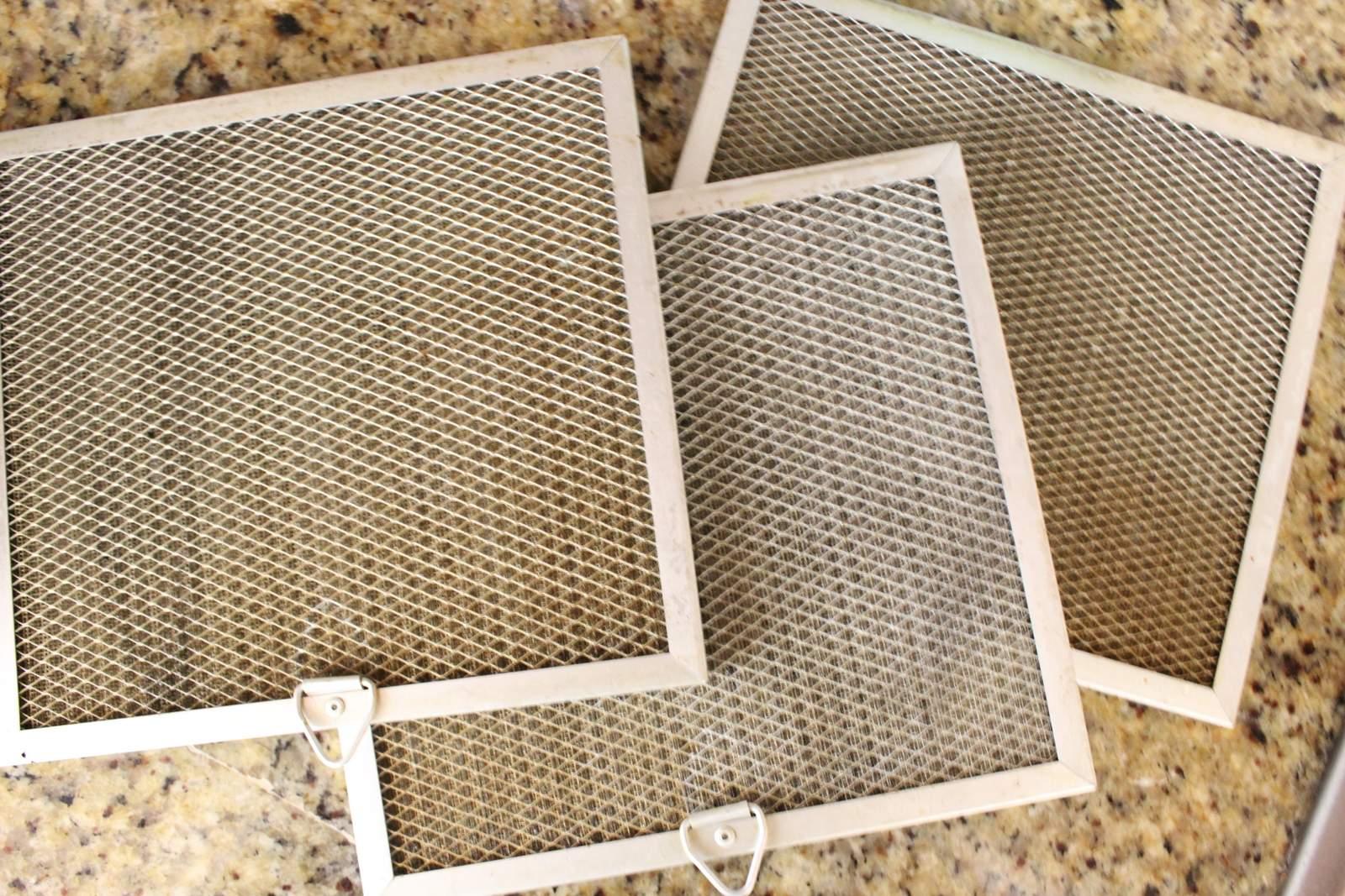 Afzuigkap filters reinigen Stap voor stap uitleg # Wasbak Filter_230800